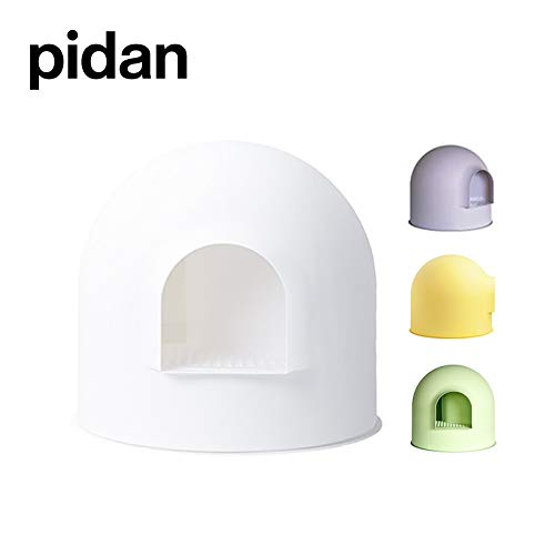 pidan Igloo Cat Litter Box Enclosure with lid, High Dome Covered Litter Box House with Modern Minimalist Design, Winner…