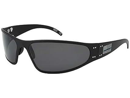 Amazon.com: Gatorz BL-WRABLK01P Patriot - Gafas de sol con ...