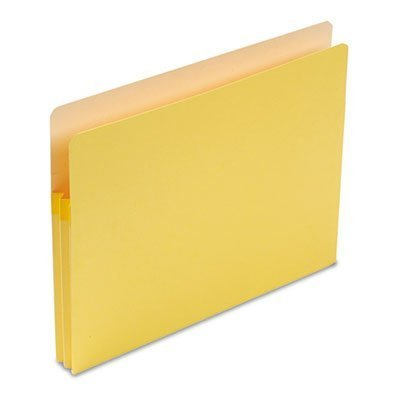 Buy 1 3/4 expansion tab file pocket letter yellow