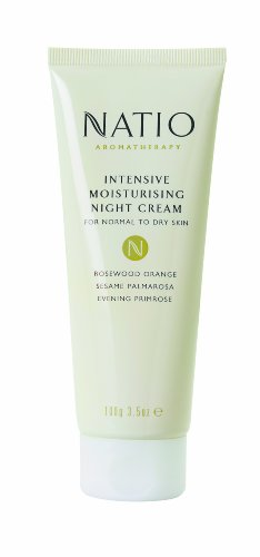 Intensive Night Therapy - Natio Aromatherapy Intensive Moisturising Night Cream 100g