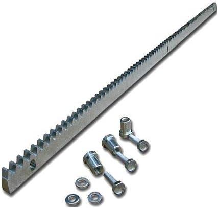 Pack cremallera acero estandar para motor corredera, compatible ...