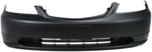 med Front Bumper Cover Replacement for 2001-2003 Honda Civic ()