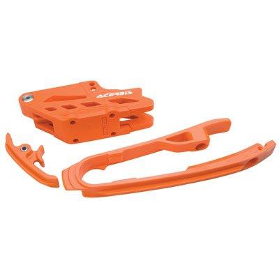 Acerbis Chain Guide and Slider Kit Orange for KTM 500 XC-W 2012-2016