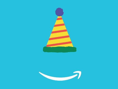 Birthday Hat egift card link image