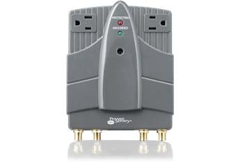 (Power Sentry PPP3350WA/17 Home Theater Surge Protector, 1980 Joules)