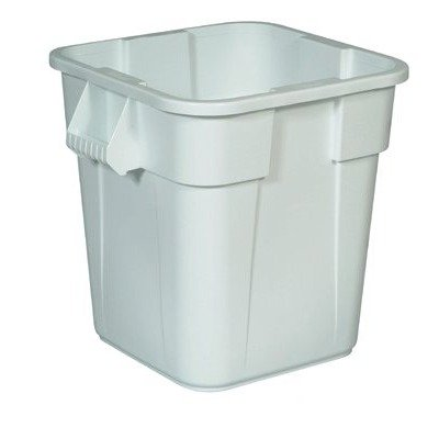 - Brute Square Containers - 28-gal square brute container