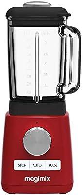 Magimix 11613 Batidora de vaso 1.8L 1200W Rojo - Licuadora ...