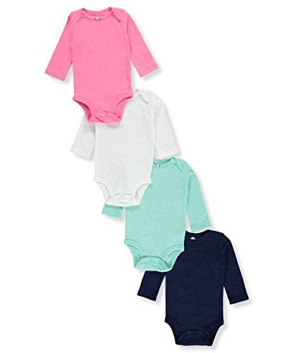 Long Sleeve Baby Bodysuit - 8