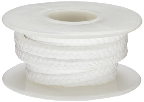 Palmetto 1367H Series PTFE without Lubrication Compression Packing Seal, White, 1/4