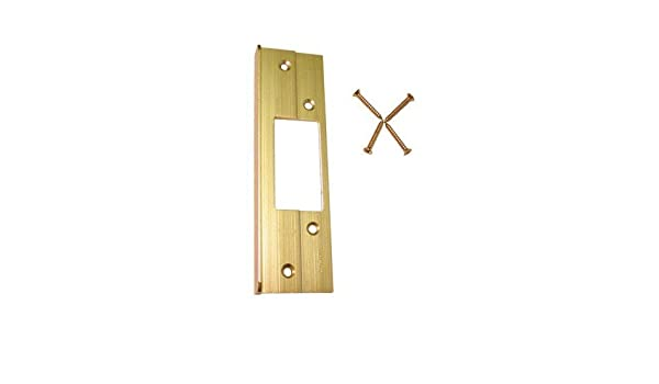 Brass Barton 20536454 Guard-A-Latch Door Reinforcer