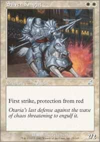 Magic: the Gathering - Silver Knight - Scourge -