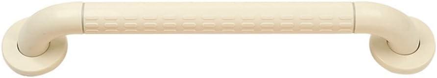 NMDD Pasamanos Antideslizantes de Acero Inoxidable para Personas de la Tercera Edad con discapacidad accesibilidad baño Inodoro Inodoro Seguridad Inodoro (Color: Blanco, tamaño: 80 c