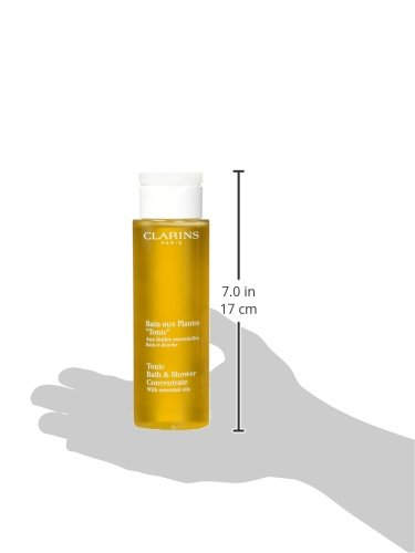 Clarins Tonic Bath & Shower  Concentrate, 6.8-Ounce Box