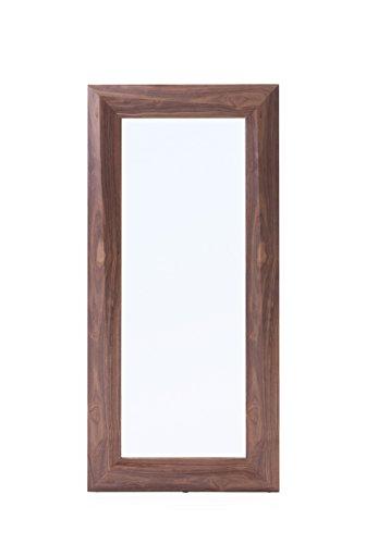 Modrest VIG Furniture Calem Collection Modern Walnut Veneer Finished Rectangular Floor Mirror, Brown - Rectangular Floor Mirror Walnut Veneer Finish - mirrors-bedroom-decor, bedroom-decor, bedroom - 3141zzl3mqL -