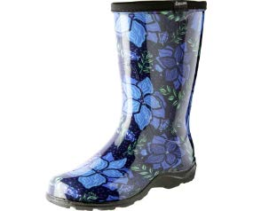 Sloggers 5018SSBL08 5018SSBK06 Spring Surprise Waterproof Boot, 6, Black