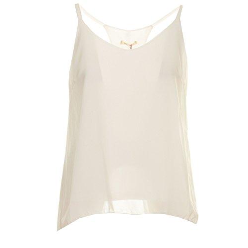 GOA GOA - Camiseta sin mangas - para mujer Bianco