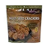 Crunch Masters, Cracker Multiseed Rsmry & Ooil, 4.5-Ounce (12 Pack) ( Value Bulk Multi-pack)