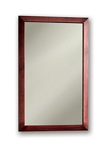 """Jensen 62BK244CCYX Dark Cherry Frame Medicine Cabinet, 16.5"""" x 26.5"""""""