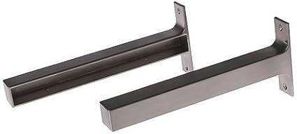 IKEA EKBY Bjärnum - Soporte, aluminio paquete / 2 - 28 cm