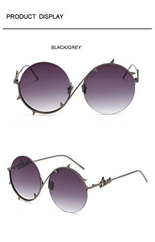 sol de hip hombre Aprigy Pinhole gafas Gold doradas oculares para Black hop Brown Fashion Grey Cool protectoras de plateadas Gafas gafas Steampunk sol fXgPq
