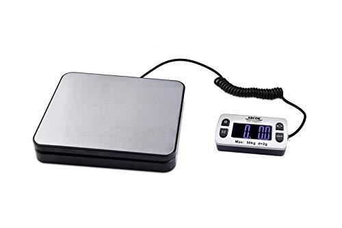 ABCON POSTSHIP Digital 50kg 110lb with 2g 0.1oz Increments Stainless Steel Platform Letter Postal Postage Parcel…