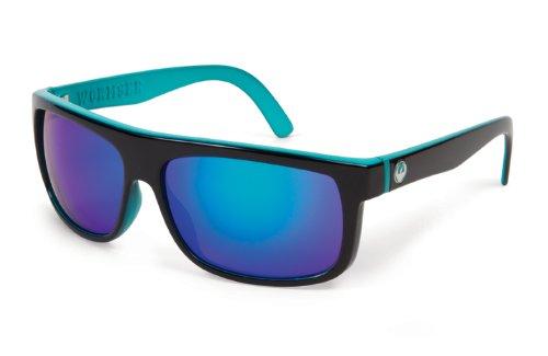 Dragon Alliance Wormser Sunglasses (Jet Teal, Green - Sunglasses Dragon
