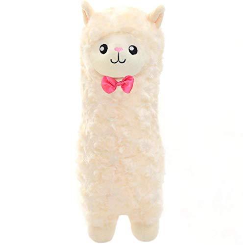 Serdic Plush Stuffed Llama Alpaca Animals Toy Curly Fur Llama Llama Gift 12 inch