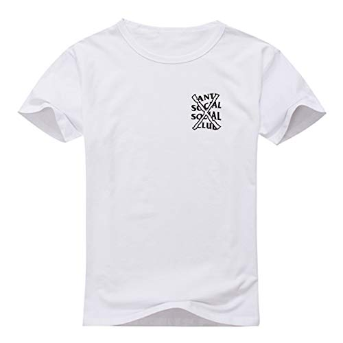Anti Social Social Club X04 T-Shirt Men (Small, Black): Amazon.es: Ropa y accesorios