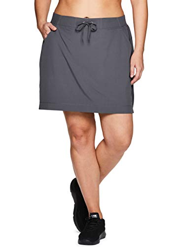 Fast Deliver Royal Robbins Discovery Cargo Hiking Skirt Black Mesh Waist Stretch Sz 8 Pockets Comfortable Feel Women's Clothing