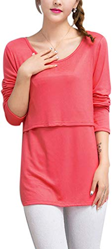 フォーラムエレメンタルフレアTシャツ 長袖 マタニティ [Marshel] レディース 妊婦 秋冬 M-XL サイズ