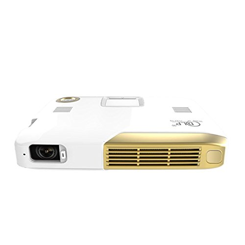 3D 4K Octa Core,Deeirao Portable DLP Home Theater Projector Android4.4 Support 2160P UHD Battery Work 3hours PC Touch Panel PS4 Xbox360 Game YouTube HDMI USB S/PDIF G20Pro