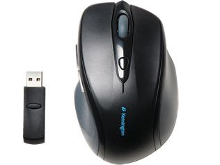 (Kensington Computer Profit Wireless Full Sized Mouse Soft Rubber Grip Minimal Interference)