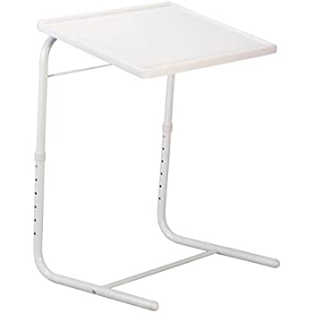 Amazon Com Easycomforts Adjustable Tray Table White By