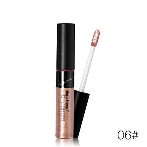 8 Color Liquid Face Highlighter Stick Illuminating Sunkissed Tint Glow Natural 3D Highlight Makeup Health Finish