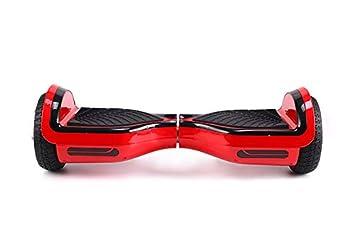 XTINGER Hoverboard D12 500W 15KM 15KM/H Rojo 11KG 100KG Bluetooth Funda