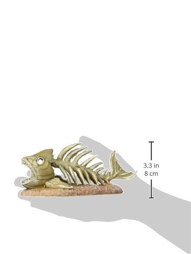 Image of Penn Plax Zombie Fish Aquarium Ornament, 7.2 by 3.5 by 3-Inch