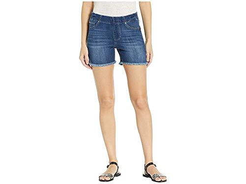 Liverpool Women's Chloe Pull-On Shorts w/Frayed Hem Edgewater 8 4