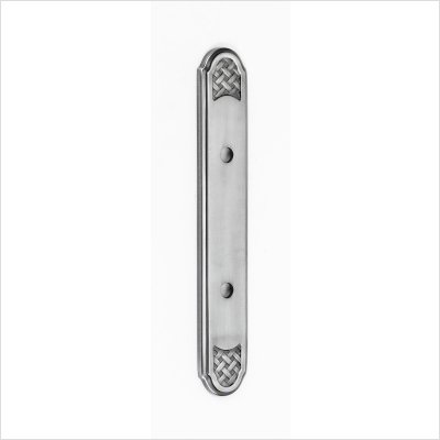 Alno A1487-3-AP Classic Weave Suite Pull Cabinet Backplate by Alno (Image #2)