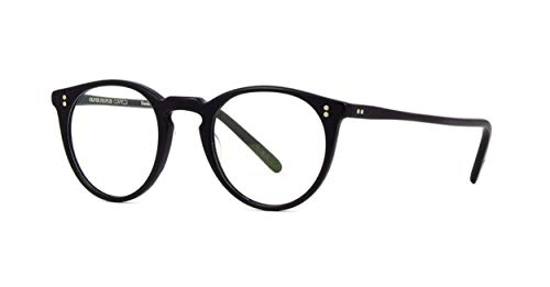Oliver Peoples Vintage OV5183 5183 O'Malley 1465 Matte Black Optical Frame ()