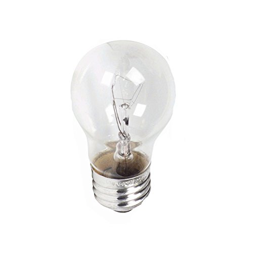 120 Volt 2 x Longer Life 40 Watt Medium Base Light Bulbs Appliance Clear A15