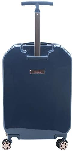 "kensie Women's 2 Piece or 20"" 3-D Gemstone Luggage Set, Midnight Blue, 2 PC 28"""