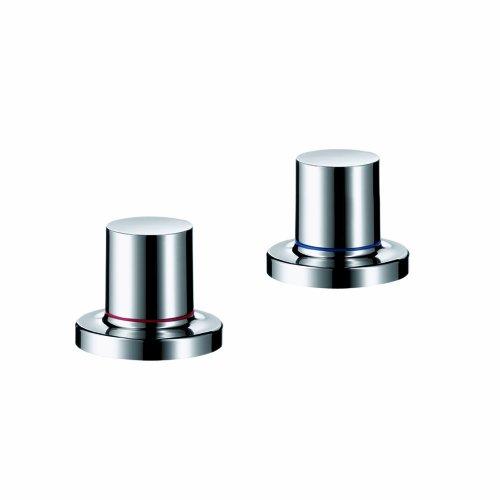 (Axor 18480001 Massaud Thermostatic Tub Filler Trim in Chrome)