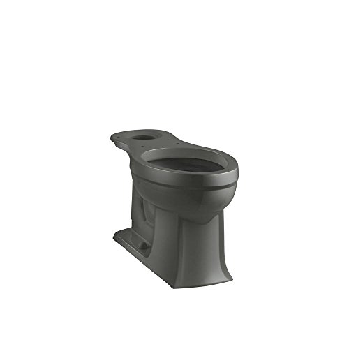 (Kohler K-4356-58 Archer Comfort Height Elongated Bowl, Thunder)