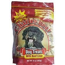 - Charlee Bear Dog Treats With Beef Liver NET WT 16oz (453g) - 2-PACK