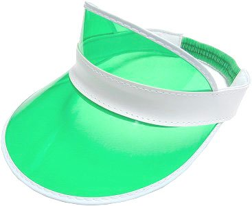 Trademark Poker Lot of 10 Dealer Visors -