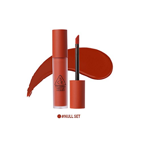 3CE Soft Lip Lacquer 6g Newly Launched / lip lacquer / 3ce lips (Null Set)