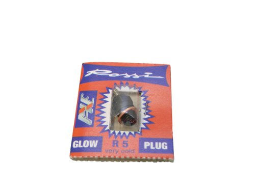 JAMARA 176905 R5 Glow Plug Rossi, Very Cold, 13 CCM, Multi Color