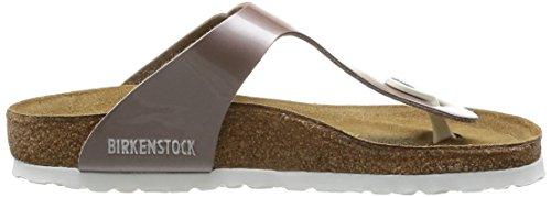 Birkenstock Gizeh 845601 - Sandalias para mujer Beige (pearly Hazel)