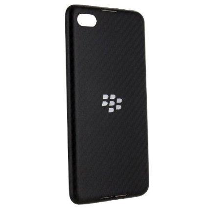 - Verizon OEM Blackberry Z30 Battery Door Cover ASY-53961-010 Logo - Black