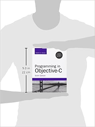 programming in objective c 6th edition